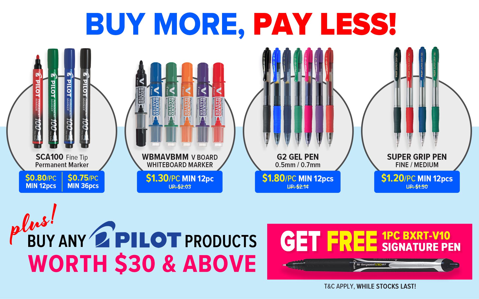 Pilot $30 Promo