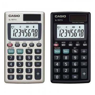 CASIO SL797TV Pocket Calculator 8Digits