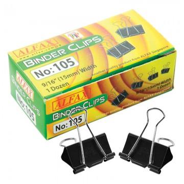 ALFAX 105 Binder Clip 15mm
