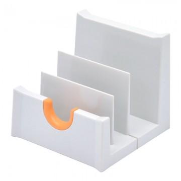 MF 785011D Letter Rack 108x111x102mm Light Grey/Manda