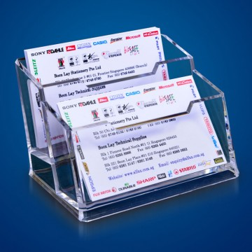 ALFAX K053 Name Card Stand 2Tier