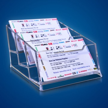 ALFAX K054 Name Card Stand 3Tier