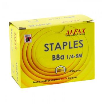 ALFAX B8A Staples 1/4 5m