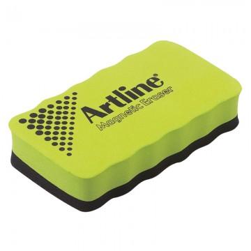 ARTLINE ERTMM Magnetic Whiteboard Duster Green