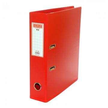 """ALFAX 182A PVC Arch File 3"""" A4 Red#01"""