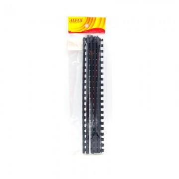 ALFAX 108BK Binding Ring 8mm 21R A4 10's Black