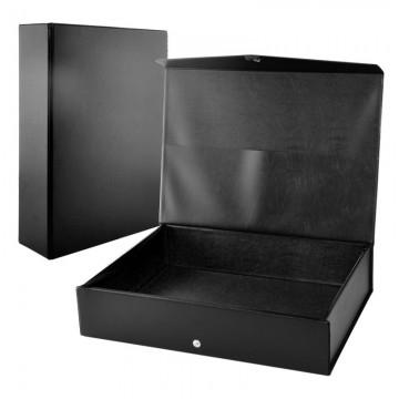 "ALFAX PVC Box File 3"" Blue"