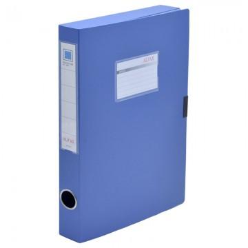 """ALFAX S818 Plastic  Box File 1"""" A4 Blue"""