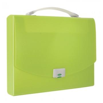 ALFAX 1251 Briefcase Trasverse A4 Green