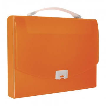ALFAX 1251 Briefcase Trasverse A4 Orange