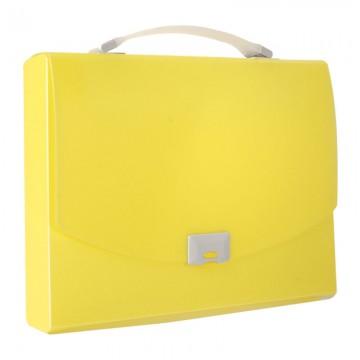 ALFAX 1251 Briefcase Trasverse A4 Yellow