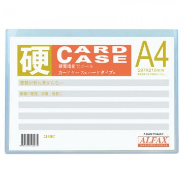 ALFAX 214HC Hard Card Case A4