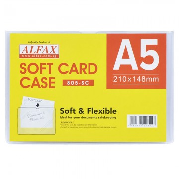 ALFAX 805SC Soft Card Case A5