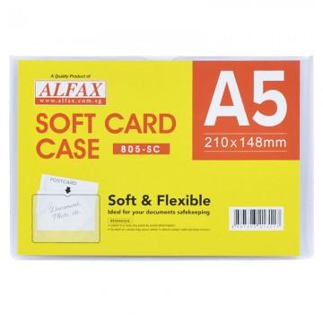 ALFAX 805SC Soft Card Case A5