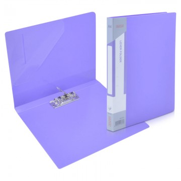 ALFAX AB1051 Lever Clip File A4 Purple