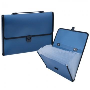 ALFAX 802 Expanding File 13 Dividers A4 Blue