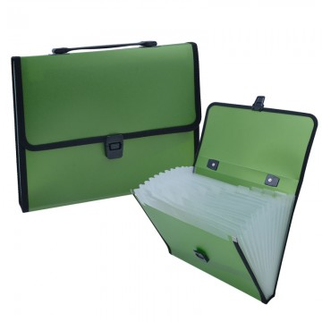 ALFAX 802 Expanding File 13 Dividers A4 Green