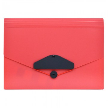 ALFAX 4304 Expanding File 13 Dividers A4 Red