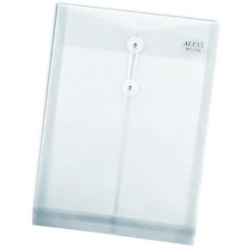 ALFAX PE118 Plastic String Envelope A4 White