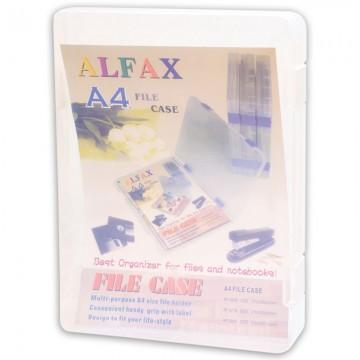 ALFAX RF2018 File Case 310x235x40mm Clear