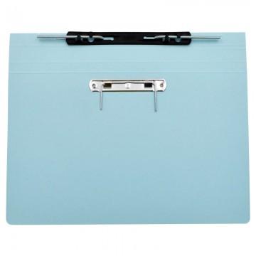 ALFAX 10P Paper Spring File + U Pin  F4 Blue