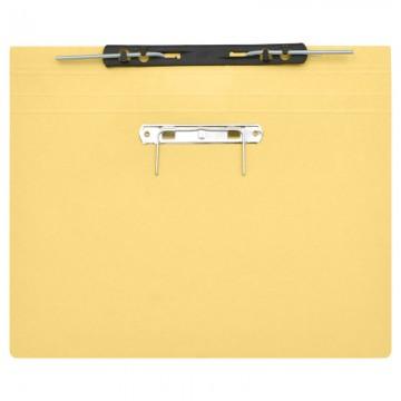 ALFAX 10P Paper Spring File + U Pin  F4 Buff