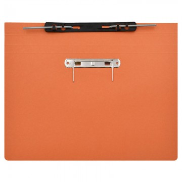 ALFAX 10P Paper Spring File + U Pin F4 Orange
