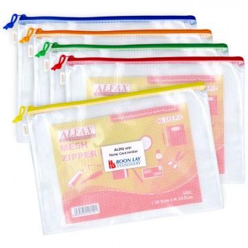 ALFAX AL212 Mesh Zip Bag F4 365x245mm