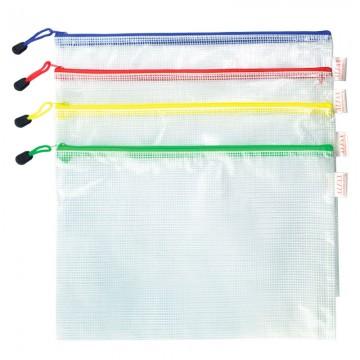 ALFAX AL213 Mesh Zip Bag A4 335x245mm