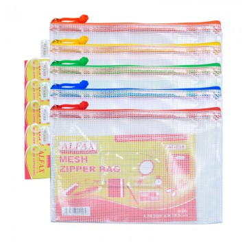 ALFAX AL214 Mesh Zip Bag A5 245x185mm