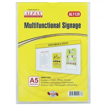 ALFAX AL1128 Multifunctional Signages A5
