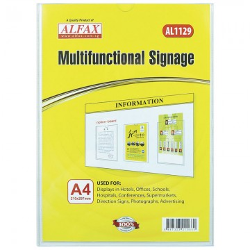 ALFAX AL1129 Multifunctional Signages A4
