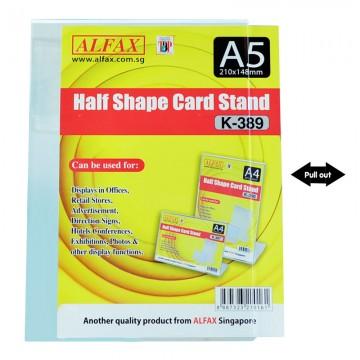 ALFAX K389 Vertical Card Stand A5