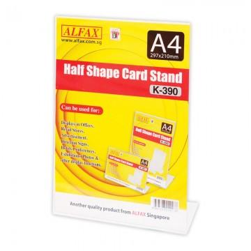 ALFAX K390 Vertical Card Stand A4