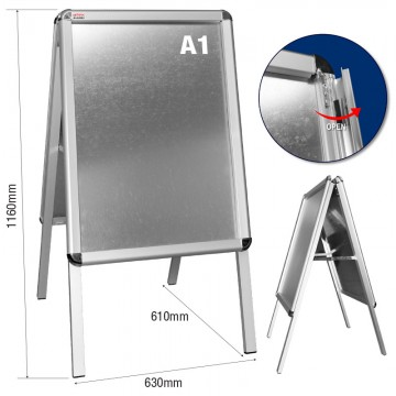 ARTEX JHA1002 Double Side Menu Board A1