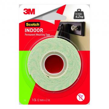 3M 110-2M Mounting Tape 12mm x 2m