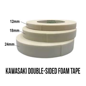 KAWASAKI Double Sided Foam Tape 12mmx10m White