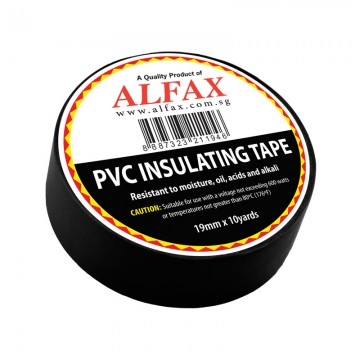 ALFAX 1910 Insulating Tape 19mmx10y Black