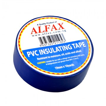 ALFAX 1910 Insulating Tape 19mmx10y Blue