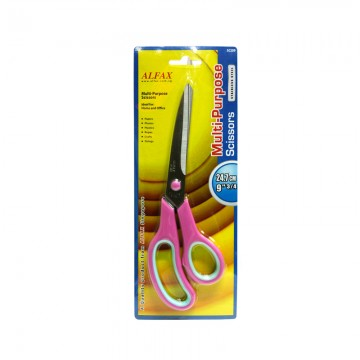 "ALFAX SC209 Multi-Purpose Scissor 9.75"" Pink"