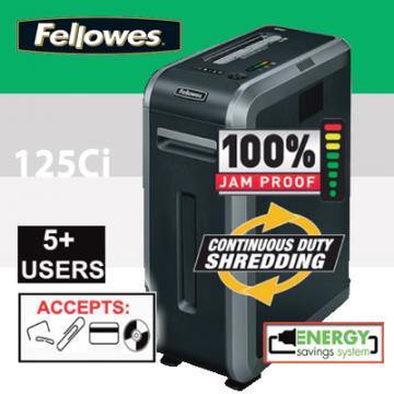 FELLOWES 125Ci Shredder F4612101