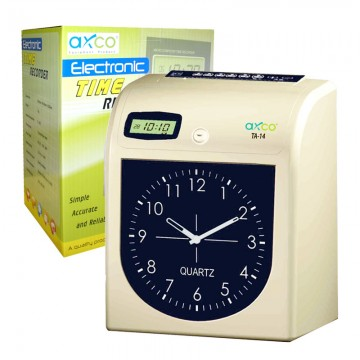 AXCO TA14 electronic Time Recorder Analog