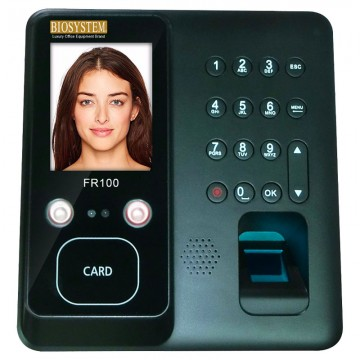 BIOSYSTEM Face and Finger 2IN1 Attendance FR100