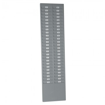 ALFAX CR9886 Time Card Rack for 50's Grey