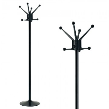 "VEPABINS VB963040 Coat Stand ""Barcelona"" Black"