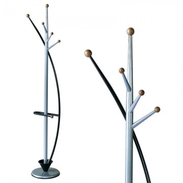 "VEPABINS VB963410 Coat Stand ""Swing"" Black"