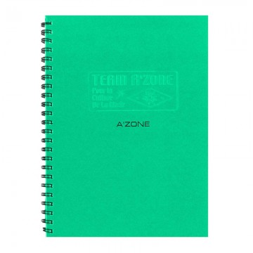 A'ZONE Team Ring Note Book A5 Green