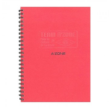 A'ZONE Team Ring Note Book A5 Red