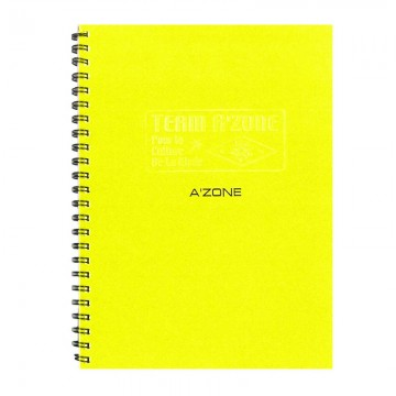A'ZONE Team Ring Note Book A5 Yellow