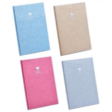 """Note Book """"Glitter"""" B5 100Pgs 16520"""